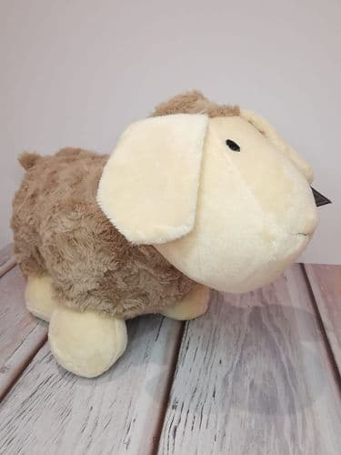 Beige Sheep Doorstop