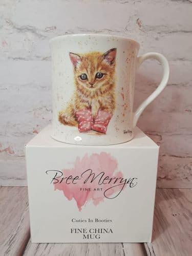 Cuties In Booties- Marmalade Mug