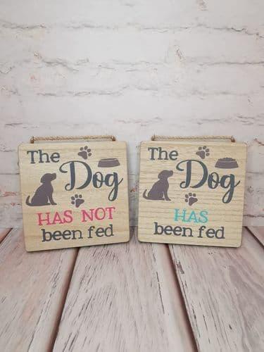 Dog Feeding Plaque