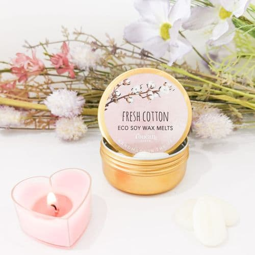 Eco Soy Wax Melts - Fresh Cotton