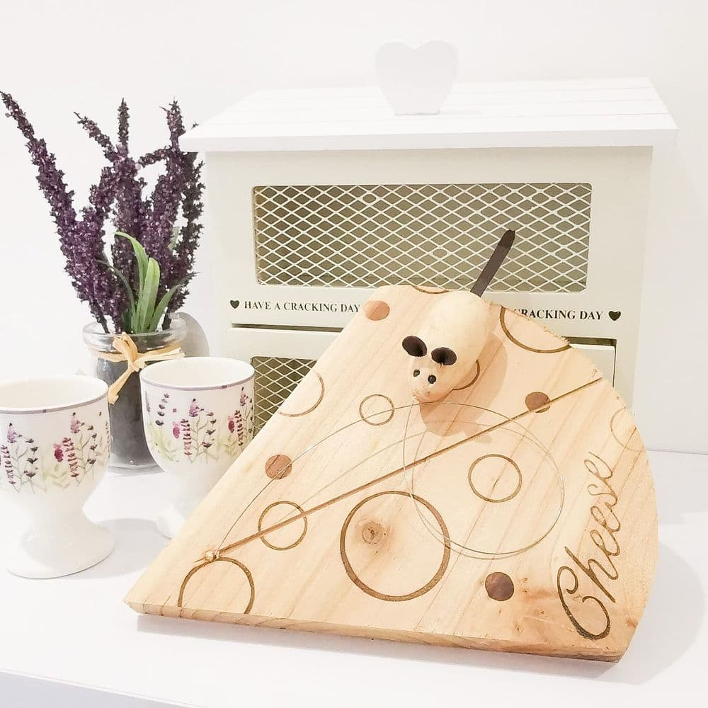 Handcrafted Cheese Board