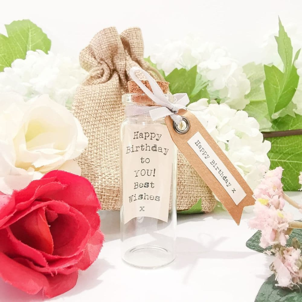 Happy Birthday Message In A Bottle