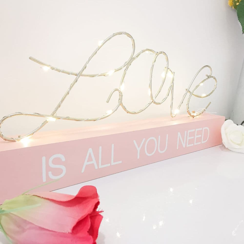 Love Is All You Need LED String Light