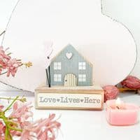 Love Lives Here Cosy Wooden Cottage