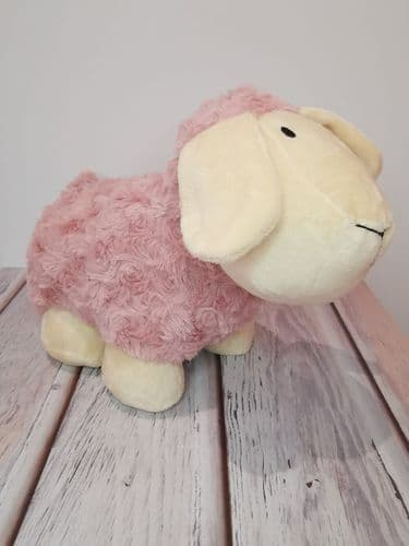 Pink Sheep Doorstop