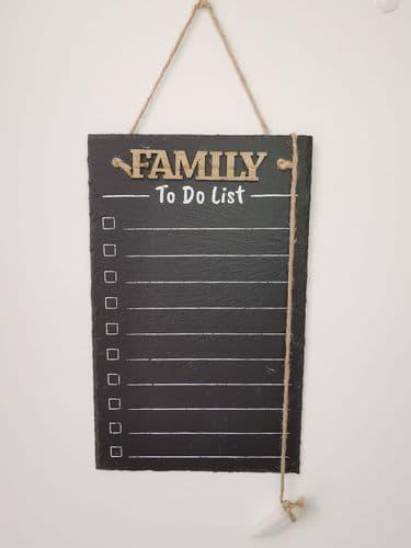 Slate Family To-Do List