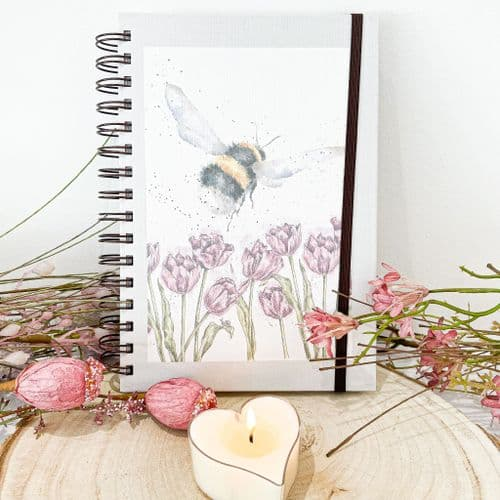 Wrendale 'Flight Of The Bumble Bee' Spiral Notebook