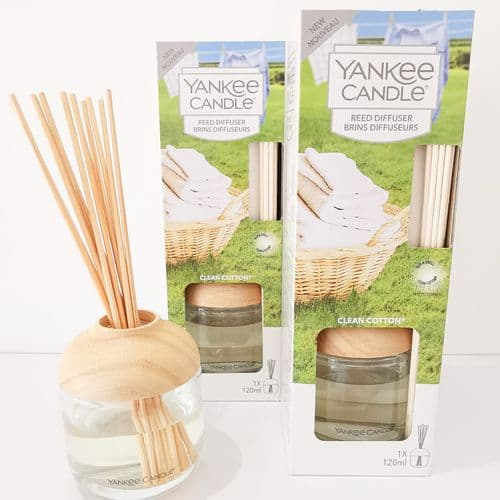 Yankee Candle Reed Diffuser- Clean Cotton