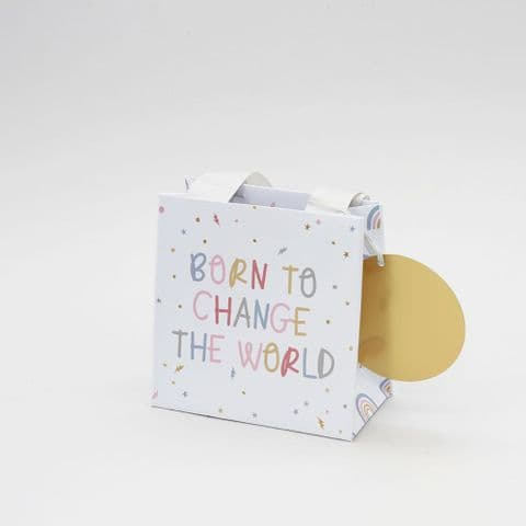 Small Born To Change The World Gift Bag