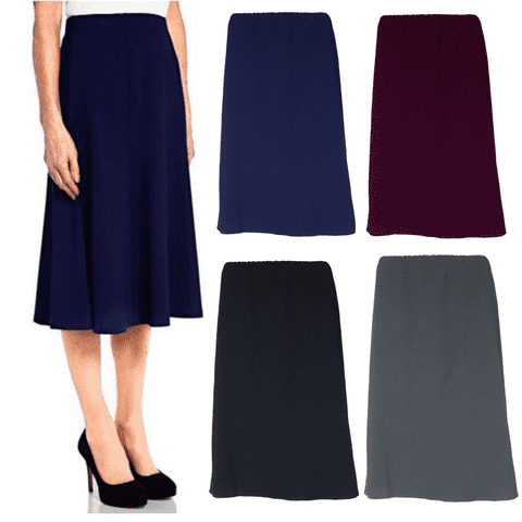 """CLASSIC A-LINE SKIRT, FULLY LINED, 25"""" LENGTH"""""""