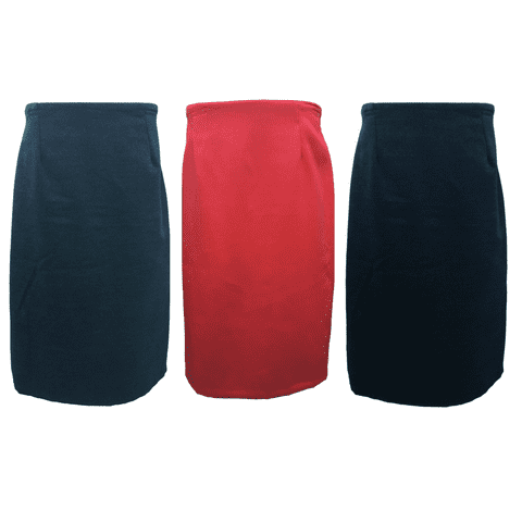 """WOOL FLEECE STRAIGHT SKIRT, THICK MATERIAL, FULLY LINED, 27"""" LENGTH"""
