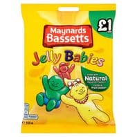 £1 Bags Jelly Babies 12 x £1