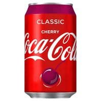 Cans Cherry Coca Cola (GB) 24 x 330ml