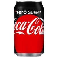 Cans Coke Zero   24 x 330ml