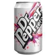 Dr Pepper Zero  Cans 24 x 330ml