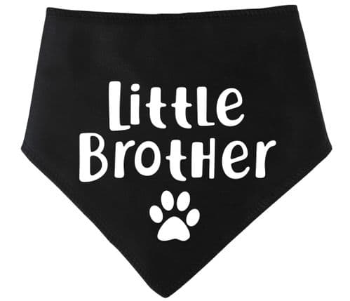 'Little Brother' Fur Family Dog Bandana