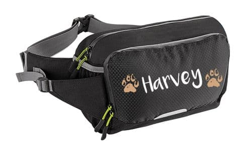 Personalised Muddy Paws Waist Bag