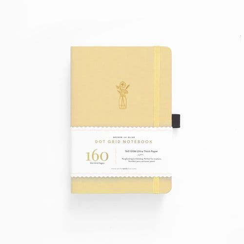 *Archer & Olive - A5 Signature Dot Grid Notebook - Flowers on the Table