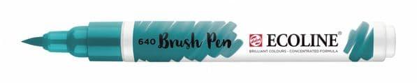 *Ecoline - Water colour Brush Pen - Bluish Green
