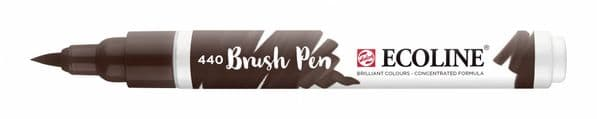 *Ecoline - Water colour Brush Pen - Sepia Deep
