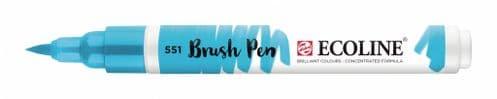 *Ecoline - Water colour Brush Pen - Sky Blue Light