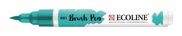 *Ecoline - Water colour Brush Pen - Turquoise Green