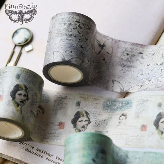 *Finnabair - Tissue Paper, Stamp, Moulds  & Washi
