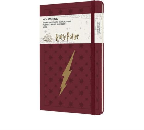 *Moleskine - Harry Potter 12 Month Weekly Notebook - 2022 13x21cm