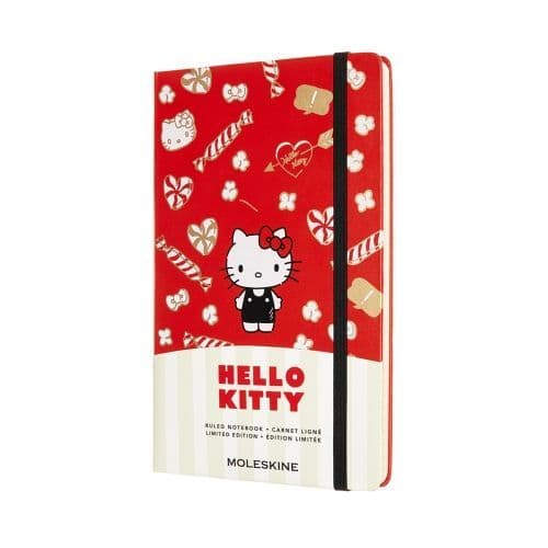 *Moleskine - Hello Kitty Limited Edition Notebook - Red (lined)