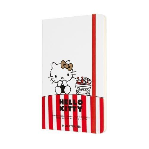 *Moleskine - Hello Kitty Limited Edition Notebook - White (plain)