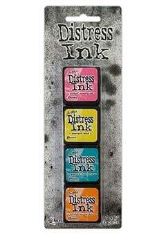 *Tim Holtz - Distress Mini Ink Pad - Set #1