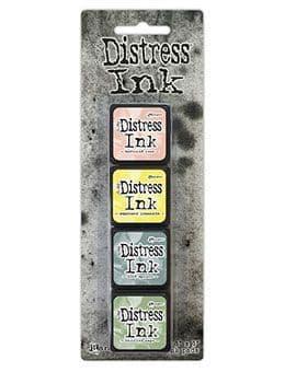 *Tim Holtz - Distress Mini Ink Pad - Set #10