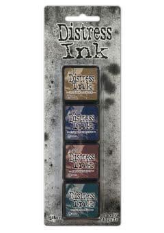*Tim Holtz - Distress Mini Ink Pad - Set #12
