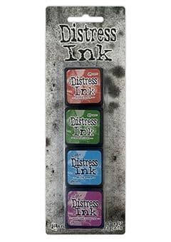 *Tim Holtz - Distress Mini Ink Pad - Set #2