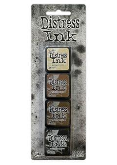 *Tim Holtz - Distress Mini Ink Pad - Set #3