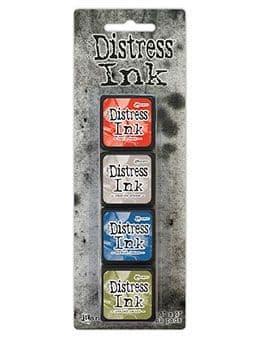 *Tim Holtz - Distress Mini Ink Pad - Set #5