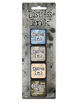 *Tim Holtz - Distress Mini Ink Pad - Set #9