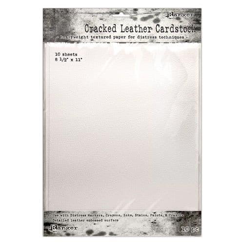 *Tm Holtz - Cracked Leather Cardstock 8.5x11