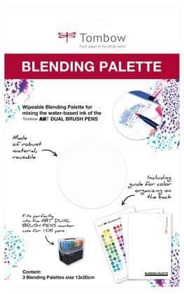 *Tombow - Blending Palette (pack of 3)