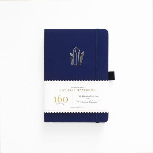 Archer & Olive - A5 Signature Dot Grid Notebook - Crystal Vibes