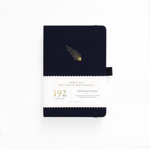 Archer & Olive - A5 Signature Dot Grid Notebook - Falling Skies 192 Pages