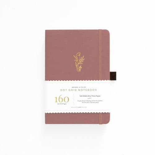 Archer & Olive - A5 Signature Dot Grid Notebook - Floral Sunset