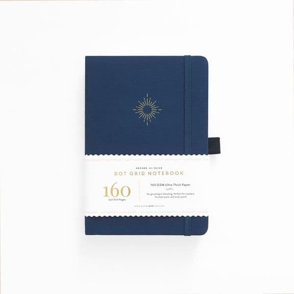 Archer & Olive - A5 Signature Dot Grid Notebook - North Star