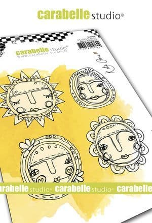 Carabelle Studio - Rubber Stamps - A6 - Art Dolls by Kate Crane