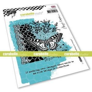 Carabelle Studio - Rubber Stamps - A6 -  If nothing every changed by Birgit Koopsen