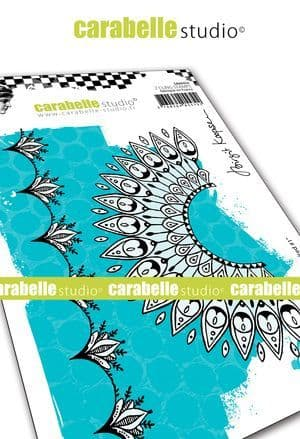 Carabelle Studio - Rubber Stamps - A6 - Indian inspired #1 by B. Koopsen