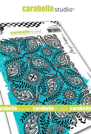 Carabelle Studio - Rubber Stamps - A6 - Indian inspired #2 by B. Koopsen