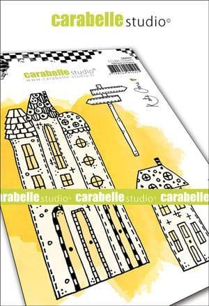 Carabelle Studio - Rubber Stamps - A6 - Our Street