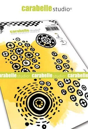 Carabelle Studio - Rubber Stamps - A6 - Round & Round