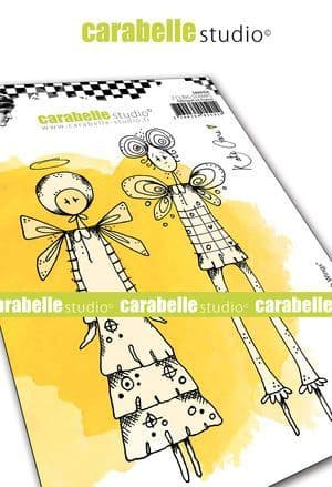 Carabelle Studio - Rubber Stamps - A6 - Things with Wings